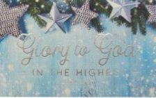 137607 Glory to God Around Card Pass - Pack of 25