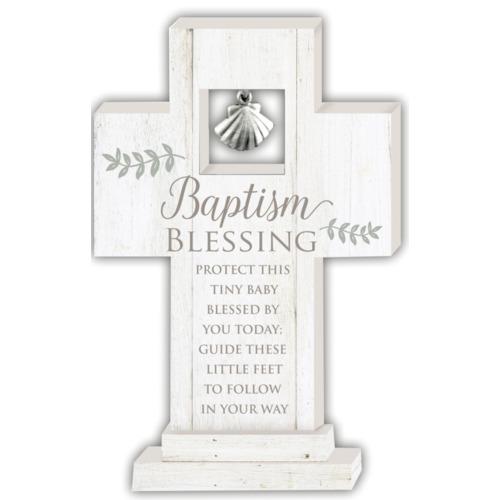 Baptism Blessing Standing Cross