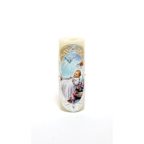 Baptism Pillar Candle