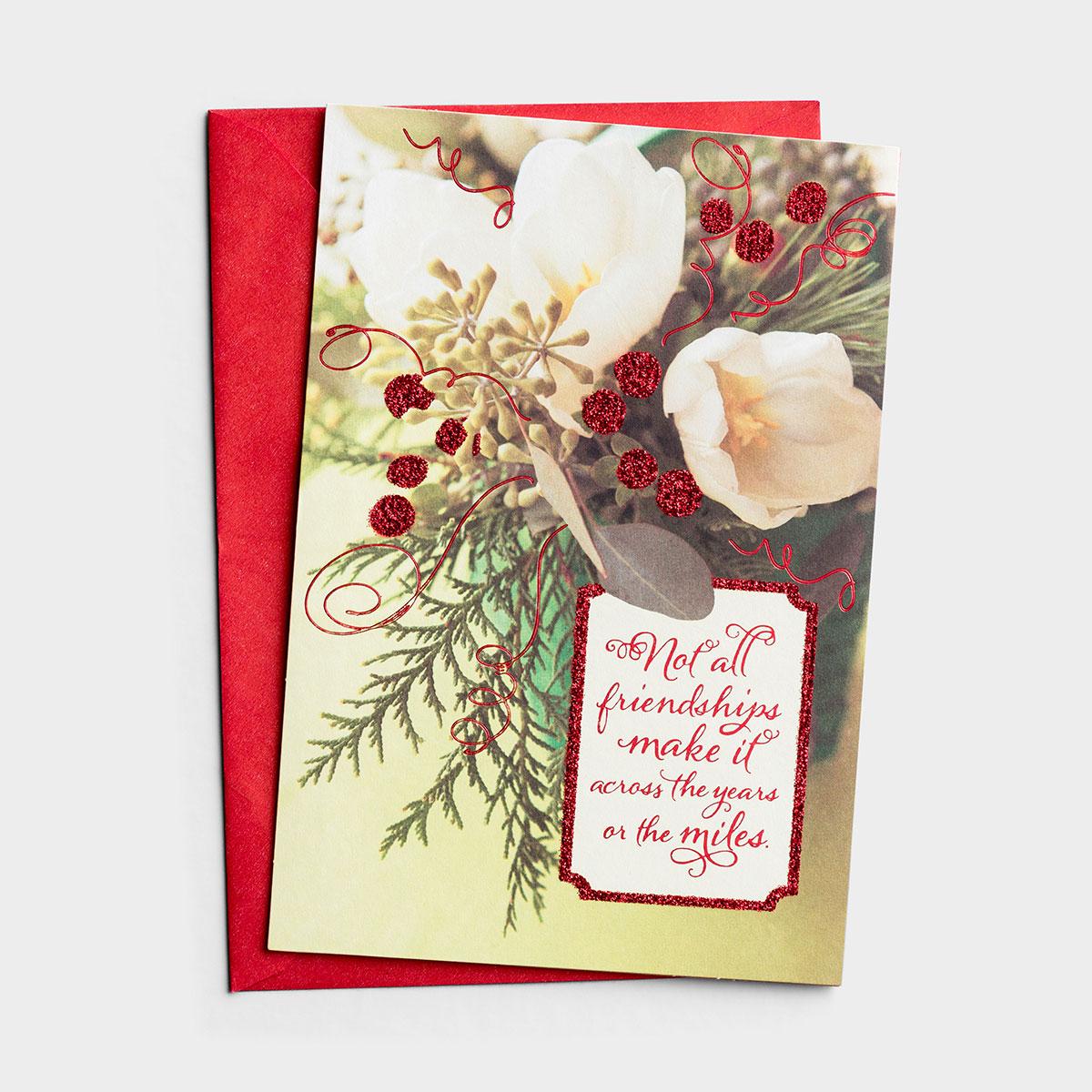 Christmas - Friendship - 1 Premium Card