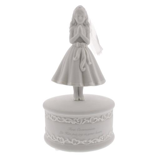 First Communion Girl Musical Figure