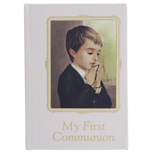 First Communion Prayer Book For Boys